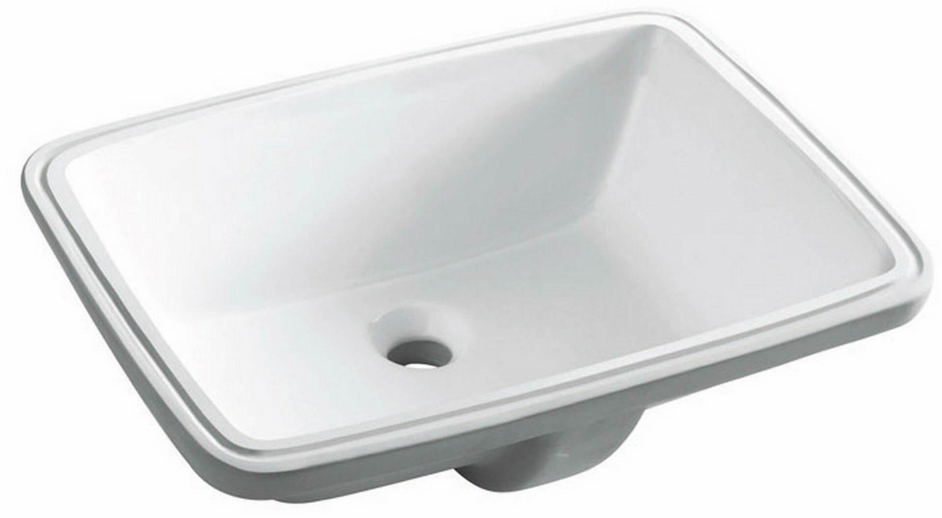 Umywalka podblatowa, Torino 0051, biała