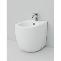Bidet stojący, FLB002, biały