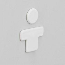 Oznaczenie WC męska YUA001